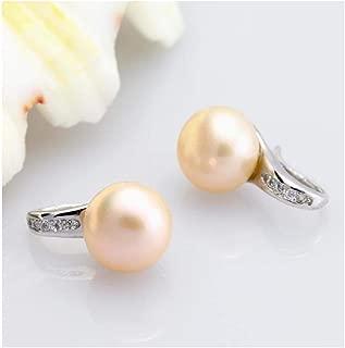 Natural Pearl Earrings For Women Earrings Jewelry Birthday Freshwater Black Pearl Earrings Stone