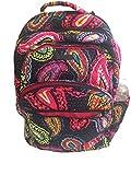 Vera Bradley Large Backpacks for Women (Twilight Paisley)