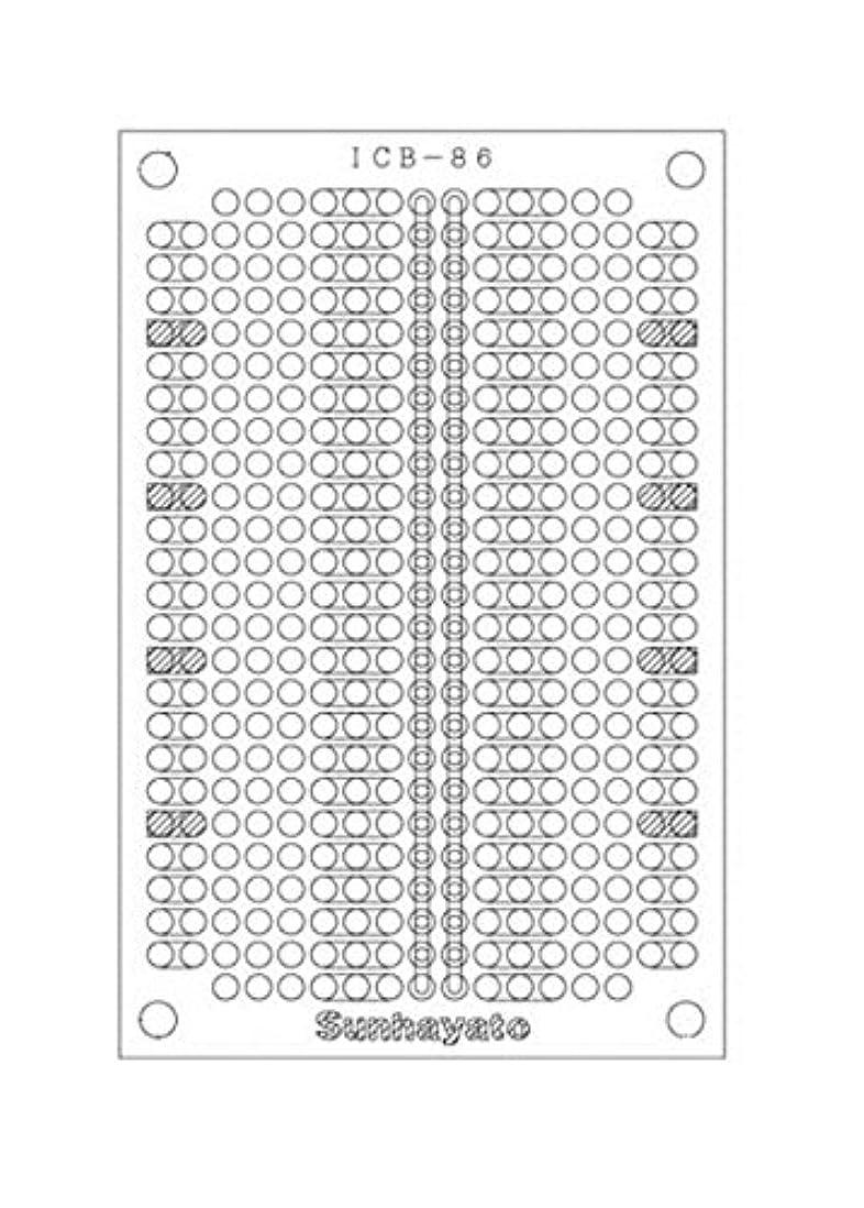 復活させる掻く呪われたサンハヤト 小型ユニバーサル基板 ICB-86