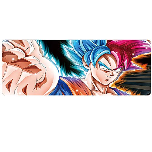 HLDC Extended Gaming Mouse Pad, 1000x500mm Anime Mouse Pad, 3mm Dikke Waterdichte Muismat, Gaming Breed Lange Functionele Antislip Rubber Base, voor Computer, PC en Laptop, 1000x500x3mm, 15