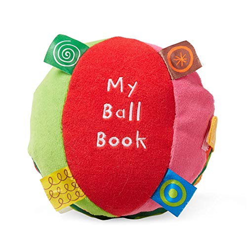 Melissa & Doug K's Kids My Ball Book 6-Page Soft Activity Book for Babies and Toddlers