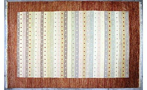 etnico 192x 299Perserteppich Pak Original geknotet Hand Position Gabbeh Farben: Verschiedene