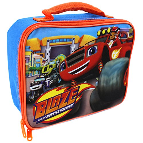Blaze and the Monster Machines Soft Lunch Box (Blaze Blue)