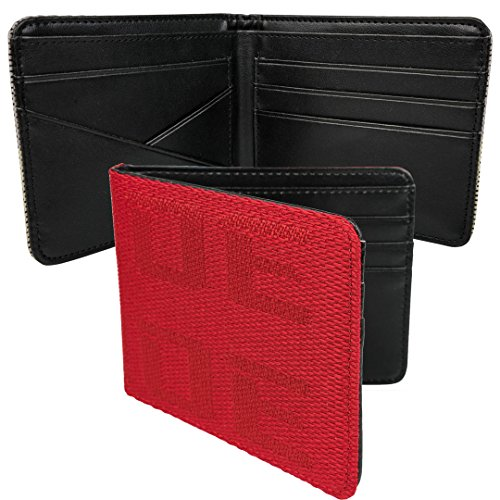 JDM Bride Racing wallet with bride fabric leather Red