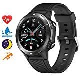 blackview smartwatch orologio fitness tracker uomo donna, activity tracker con cardiofrequenzimetro sleep monitor per android iphone huawei samsung xiaomi, impermeabile 5atm orologio sportivo