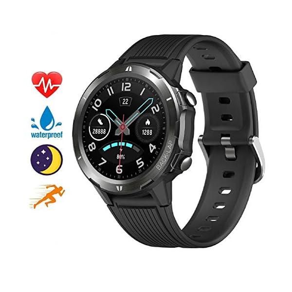 Blackview Smartwatch,Reloj Inteligentes Deportivo Fitness Tracker Hombre Mujer,Impermeable 5ATM Pulsera de Actividad… 2