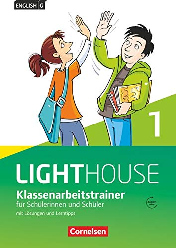 English G Lighthouse - Allgemeine Ausgabe / Band 1: 5. Schuljahr - Klassenarbeitstrainer mit Lösungen und Audio-Materialien: Klassenarbeitstrainer mit Lösungen und Audios online