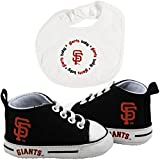 Baby Fanatic BFA-SFG30002 San Francisco Giants MLB Infant Bib and Shoe Gift Set