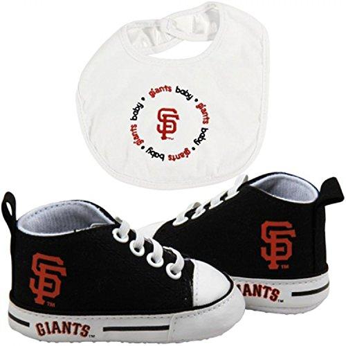 Baby Fanatic BFA-SFG30002 San Francisco Giants MLB Infant Bib and Shoe Gift Set