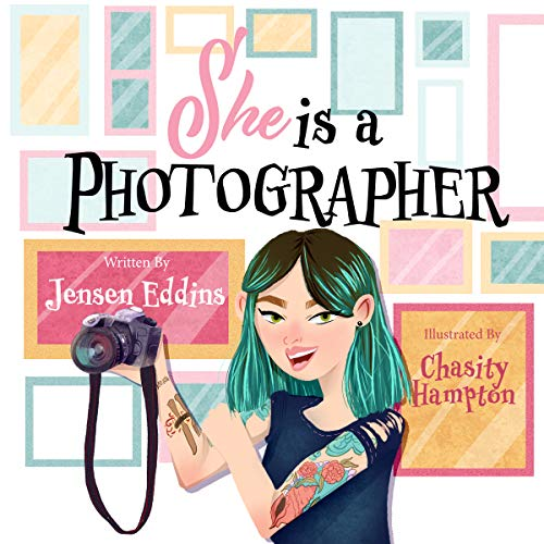 She Is a Photographer audiobook cover art