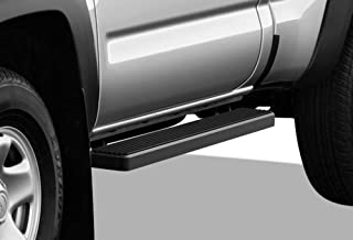 APS iBoard (Black Powder Coated 6 inches) Running Boards Nerf Bars Side Steps Step Rails Compatible with 2005-2020 Toyota Tacoma Standard Cab Pickup 2-Door