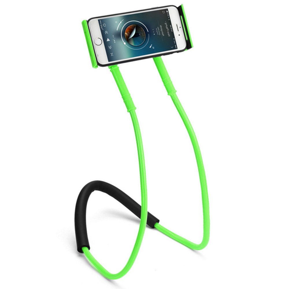 Teléfono móvil Soporte, Universal Lazy Soporte Soporte para teléfono móvil DIY Soporte Gratis Giratorio Soporte a la Mesa para iPhone, Smartphone, tabletas de Color Verde: Amazon.es: Electrónica