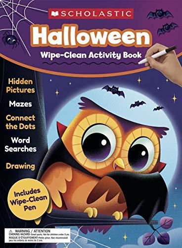 Halloween Wipe-Clean Activity Book
