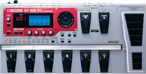 1. Boss GT-10B Bass Multi-effects Processor