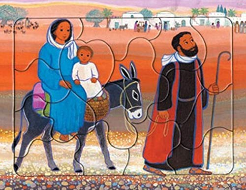 Jésus enfant (puzzle 16 pièces)