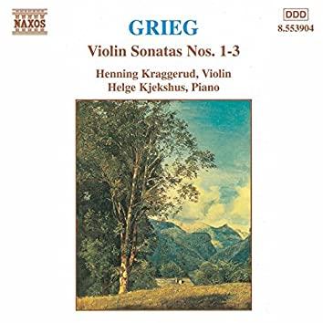 Grieg: Violin Sonatas Nos. 1-3