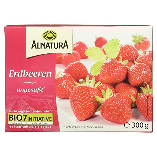 Alnatura Bio Erdbeeren, 300g (Tiefgefroren)