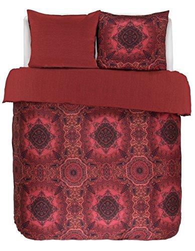 Essenza Bettwäsche Cadiz rot 155 x 220 cm - (401075-100DE-005)