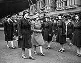 Princess Elizabeth March 1946 launches HMS Eagle at Belfast