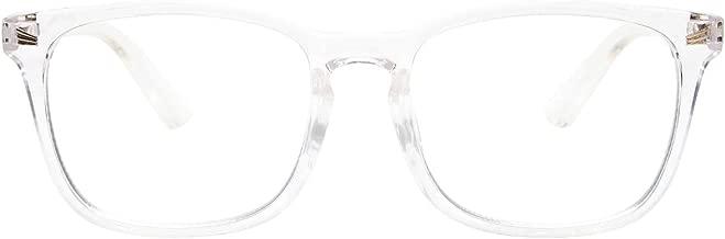 Livho Blue Light Blocking Glasses, Computer Reading/Gaming/TV/Phones Glasses for Women Men,Anti Eyestrain & UV Glare LI8081