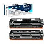 LCL Cartucho de tóner Compatible 054 054H CRG-054 CRG-054H 3028C002 (2-Pack Negro) Reemplazo para Canon i-SENSYS LBP621cw 623cw MF643CDW MF645CX MF640C MF641CW MF642CDW MF643CDW MF644CDW MF645CX