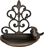 Selections Wall Mounted Bird Feeder in Decorative Cast Iron