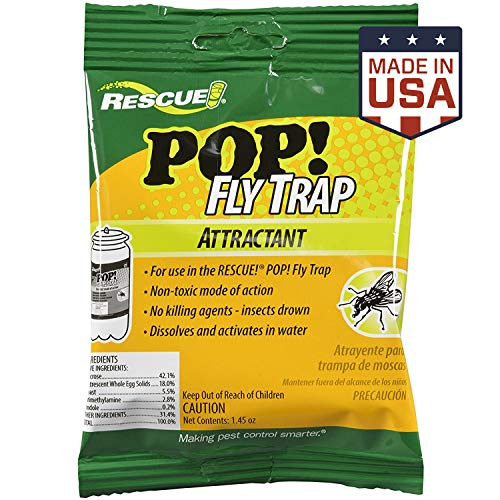 RESCUE! Outdoor Non-Toxic POP! Fly Trap Attractant Refill