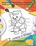 Colorear es divertido - Dibujos educativos fáciles y divertidos para colorear de animales para niños pequeños, niños, niñas, preescolar y jardín de ... colorear para niños y niñas (Spanish Edition)