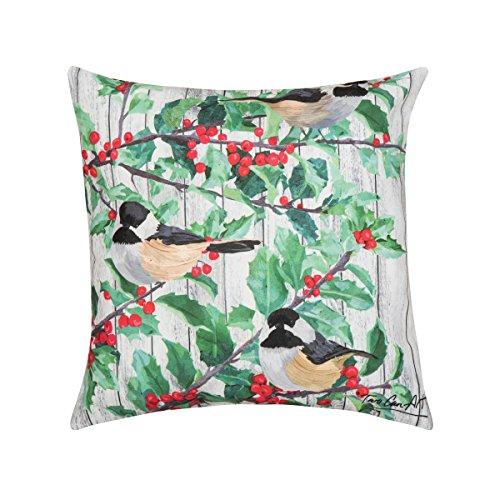 C&F Home Winter Hat Beagle HD Indoor/Outdoor Pillow 18 x 18 Brown Beagle Winter Hat Beagle