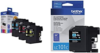 $29 » Brother Genuine Standard Yield Color Ink Cartridges, LC1013PKS, Replacement Color Ink Three Pack, Includes 1 Cartridge, Ma...