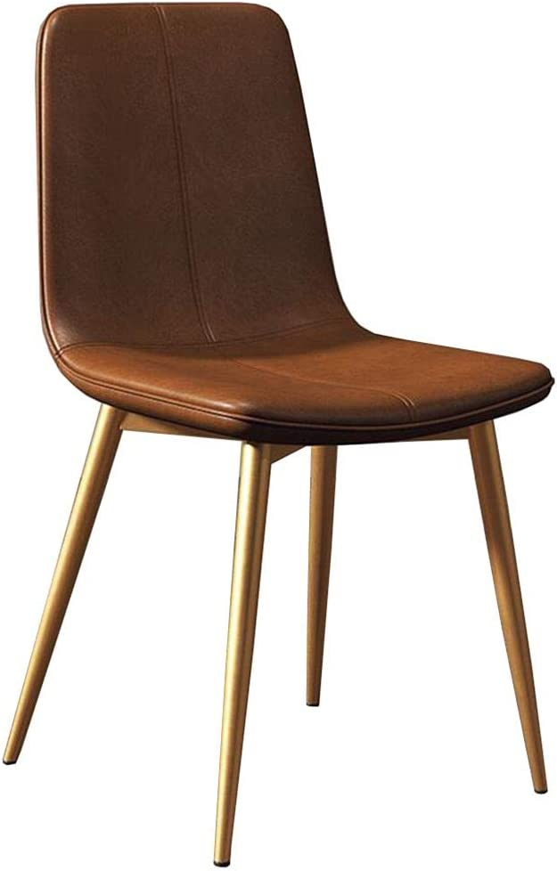 OFFicial Dall Dining Chair Metal Max 86% OFF Legs Table Cushion Room Living PU Chairs