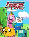Adventure Time Colouring Book: Funny Colouring Book for Kids Boys Girls of All Ages