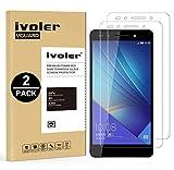 ivoler [Pack de 2] Verre Trempé pour Huawei Honor 7 [Garantie à Vie], Film Protection en Verre trempé écran Protecteur vitre...