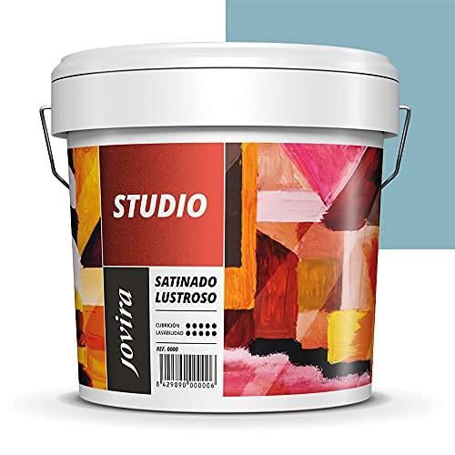 PINTURA SATINADO LUSTROSO ANTIMOHO. Protege y decora paredes y techos donde se requieren acabados muy exigentes. (5 KG, TURQUESA)