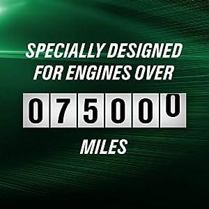 Castrol 03100 GTX High Mileage 5W-20 Motor Oil - 5 Quart
