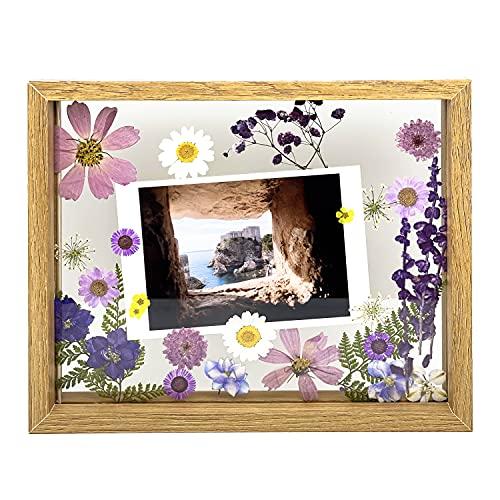 Set of DIY Conjunto de Flores Prensadas secas marco de la foto,DIY...
