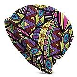 Beanie Hombres Mujeres Nudos Coloridos Tilapia Pescado Cráneo cálido Sombrero de Punto Unisex Slouchy Soft Headwear Gorro con puño
