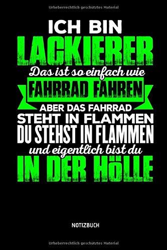 Price comparison product image Notizbuch: Lustiges Lackierer Notizbuch mit Punktraster. Tolle Lackierer Zubehör & Lackierer Geschenk Idee. (German Edition)