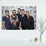 QIANLIYAN Schöne Backstreet Boys Leinwand Poster Kunst