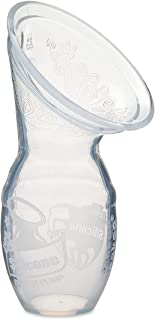 Haakaa Silicone Breastfeeding Manual Breast Pump Milk Pump 100% Food Grade Silicone BPA PVC and Phthalate Free, Clear