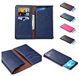 DFV mobile - Vertical Cover Premium PU Leather Case with
