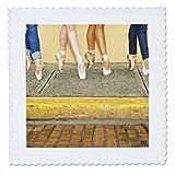 3dRose qs_9989_1 Professionelle Ballerinas, verkleidet mit
