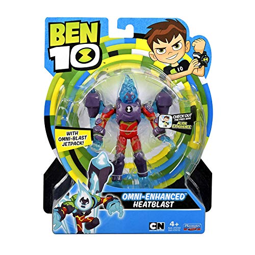 Ben 10 Omni-Enhanced Heatblast Action Figure