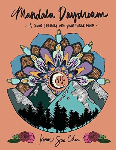 Mandala Daydream Adult Coloring Book Meditation Designs product image