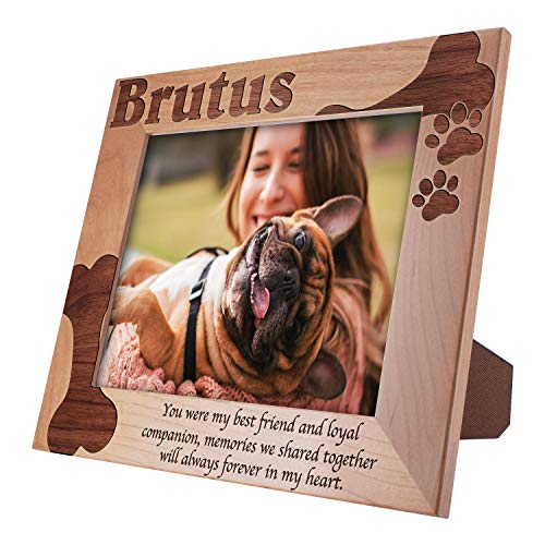Memorial Pet Picture Frames 8x10 - You were My Best Friend - Customized Pet Picture Frames, Pet Loss Gift, A Beautiful Remembrance Gift for a Grieving Pet Owner