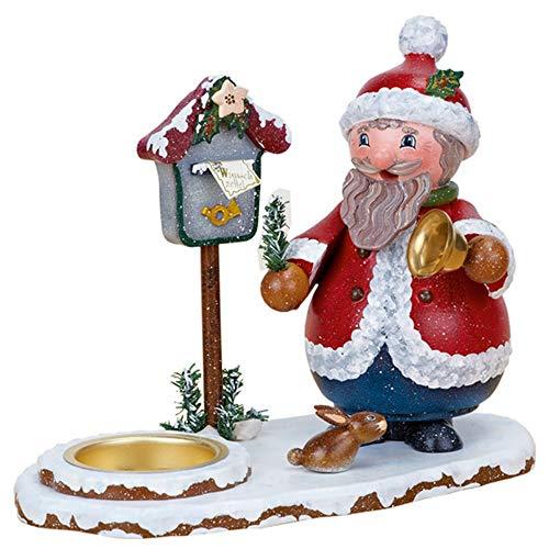 Hubrig Neuheit 2013 - Räucherwichtel Weihnachtswichtel mit Teelicht, 16cm x 15cm, Erzgebirge