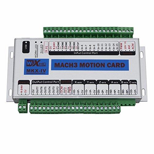 ECO-WORTHY Mach3USB 400kHz 4Axis CNC Tarjeta