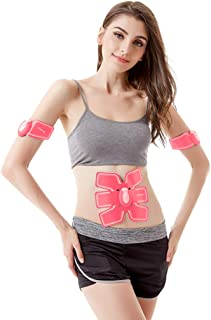 Toning Belts Abdominal Toning Belts, Abdominal Muscle Fitness Belt Home Office Abdominal Muscle Trainer Ladies Smart Fitness Instrument Muscle Abdominal Trainer Body Bodybuilding Belly Belt Massage B