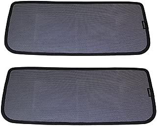 Car Falcon Wing Roof Window Sunshades,UV Ray Protector Sunshade Compatible Tesla Model X (2 of Set)