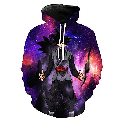 LLYTX Unisex Pullover Hoodie 3D Printing Printed Dragon Ball Z Long Sleeve Custom Sweatshirt with pockets-01_5XL